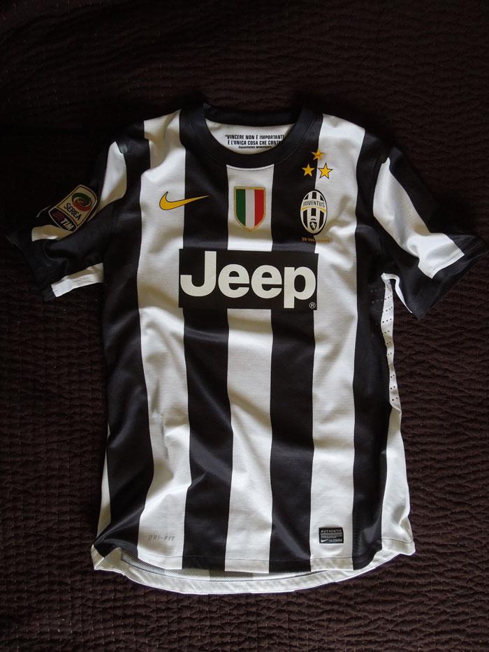Juventus home jersey 12-13