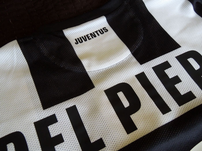 Juve home jersey authentic name kit