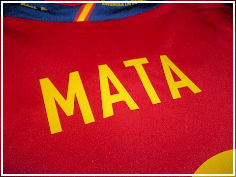 Spain lettering