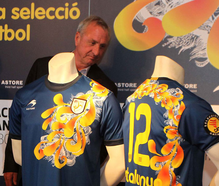Catalunya home jersey 12-14