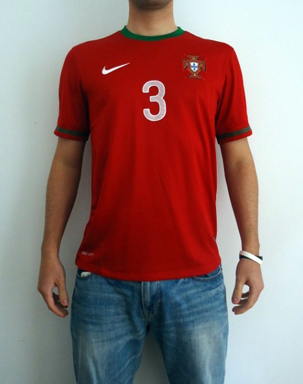 Portugal home jersey 2012 model