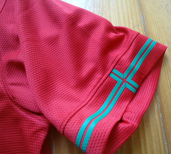 Portugal home jersey 2012 sleeve