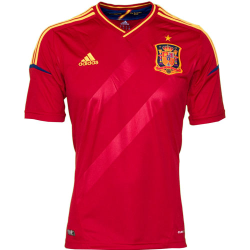 Spain home jersey EURO 2012