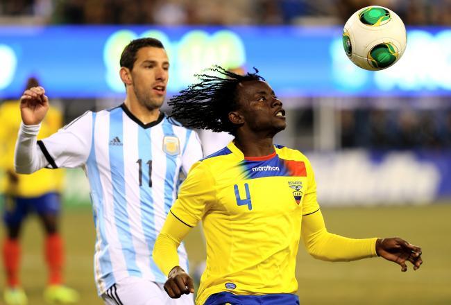 Argentina home jersey Ecuador home jersey