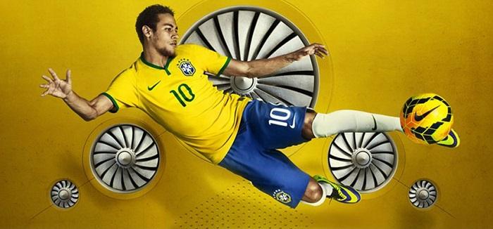 Brazil home jersey World Cup 2014