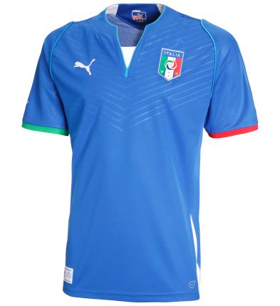 Italy home jersey 2013