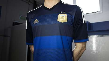 Argentina away jersey World Cup 2014
