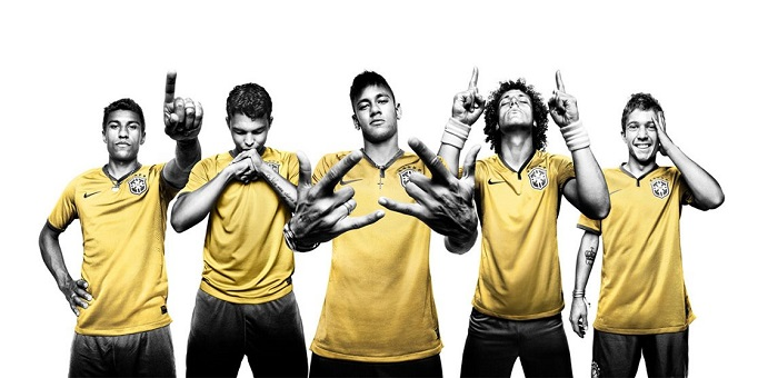 Brazil cool pic home kit for the World Cup 2014