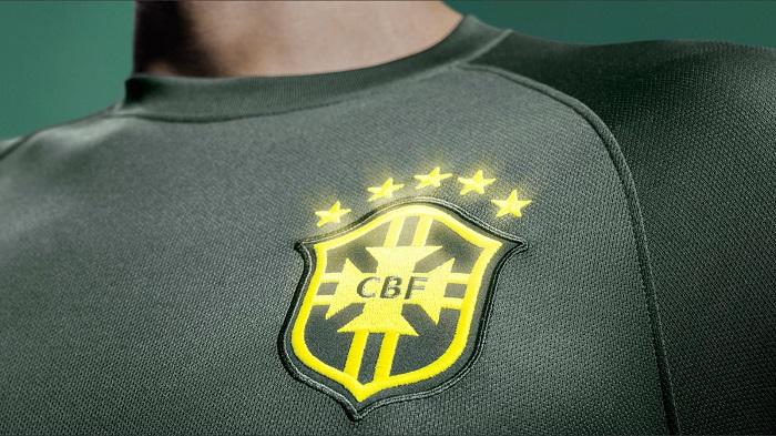 Brazil third jersey World Cup 2014