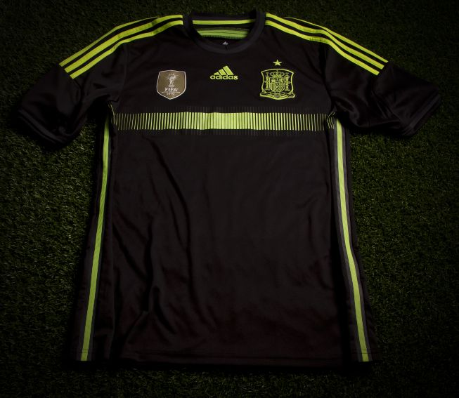 Spain away jersey World Cup 2014