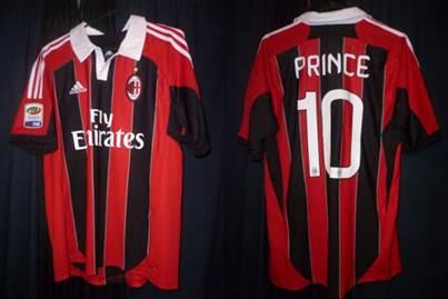 AC Milan home jersey 12-13