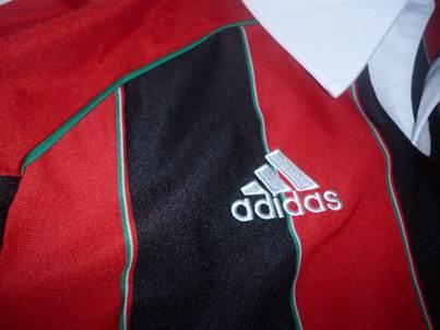 AC Milan jersey sleeve