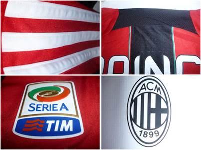 AC Milan jersey badges