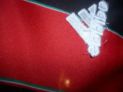 AC Milan adidas logo backside