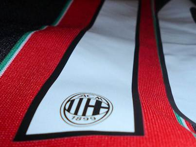 AC Milan numbers logo