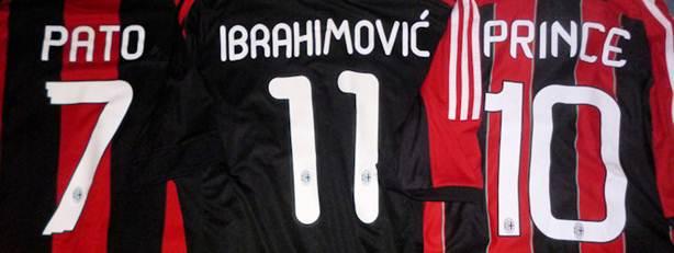 AC Milan customization historic