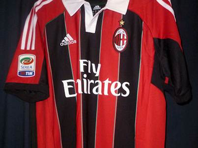 AC Milan home jersey front