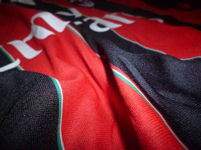 AC Milan home jersey fabric