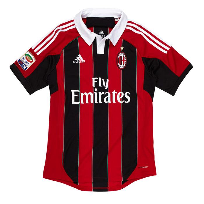 AC Milan hjemme trøje 12-13 Lega Calcio