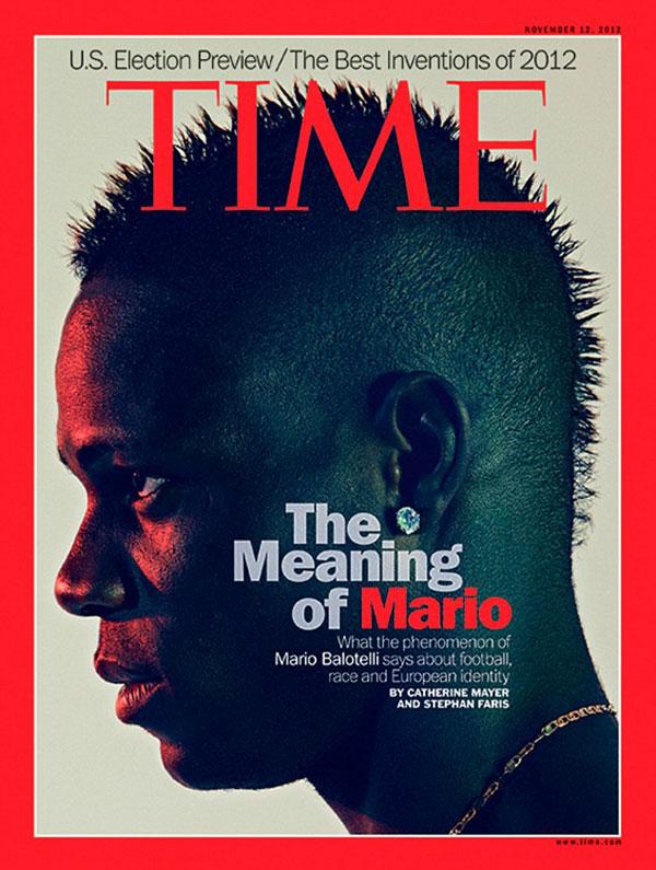 Mario Balotelli Time Magaziner cover