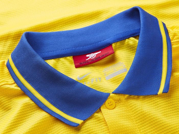 Arsenal away jersey 13-14 high collar