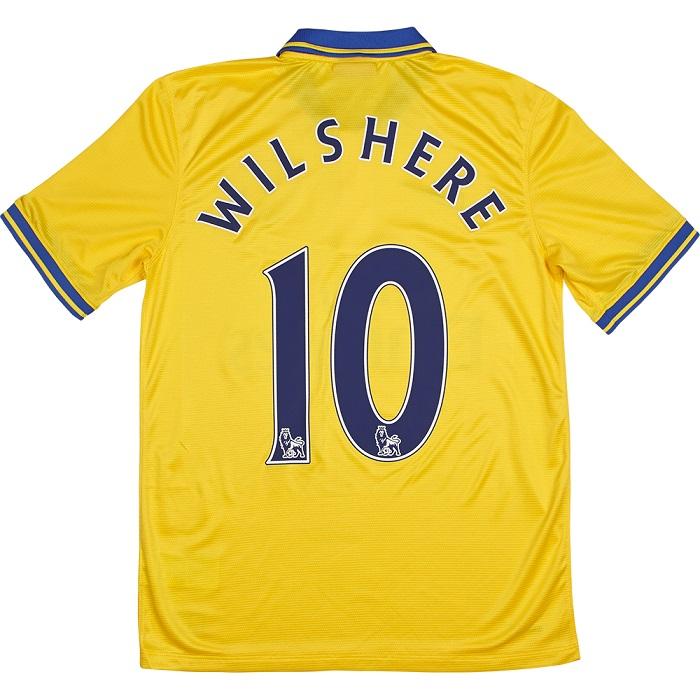 Arsenal away kit 2013/14 Wilshere 10