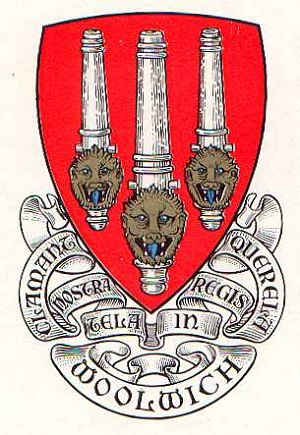 Arsenal Woolwich crest coat of arms