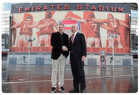 Arsenal indgår aftale med Puma