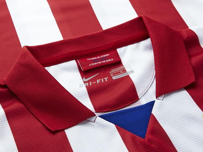 Atletico Madrid home kit Collar me bad