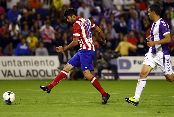 Diego Costa 19 for Atletico Madrid 13/14