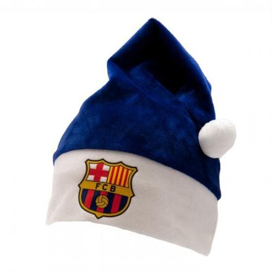 FC Barcelona Supersoft Santa Hat