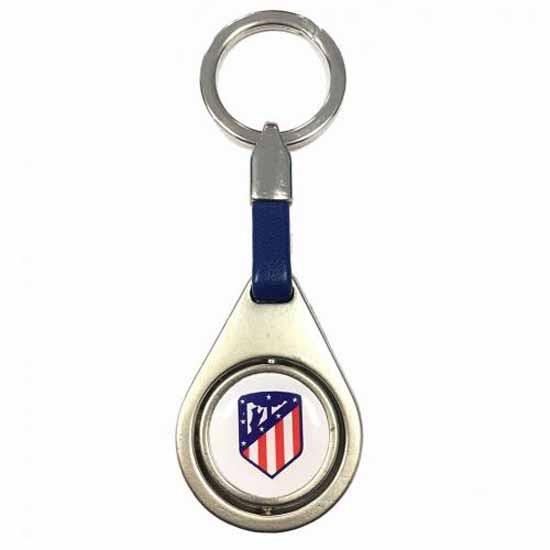 Atletico Madrid FC Spinner Keyring BL