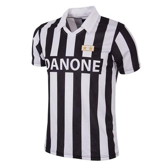 Juventus FC 1992 - 93 Coppa UEFA Short Sleeve Retro Shirt