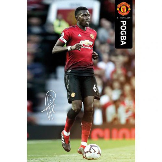 Manchester United FC Poster Pogba 49