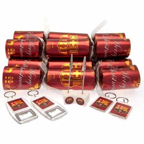FC Barcelona Christmas Crackers