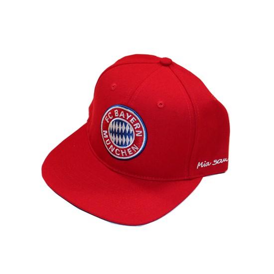 FC Bayern cap flat - red