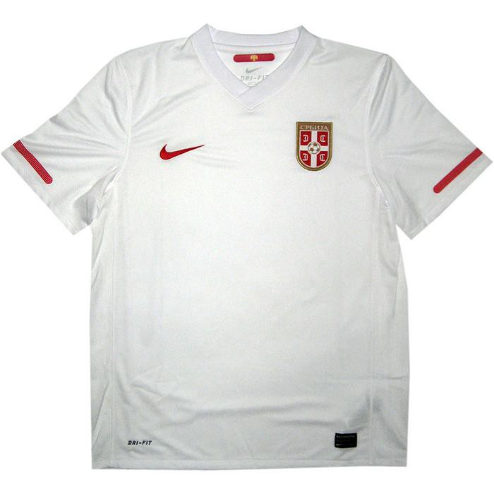 Serbia away jersey 2010
