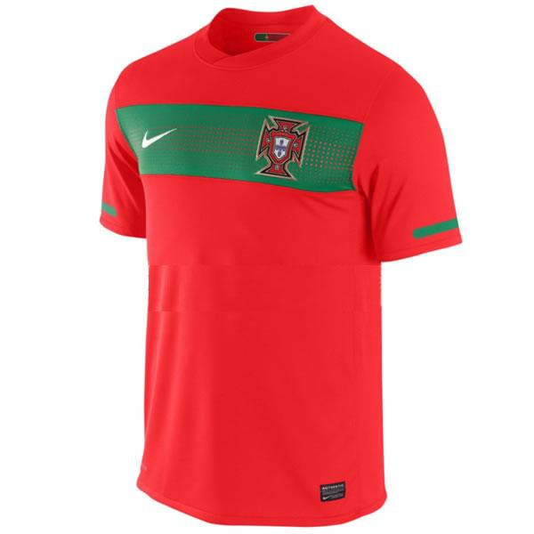 Portugal home jersey 2010