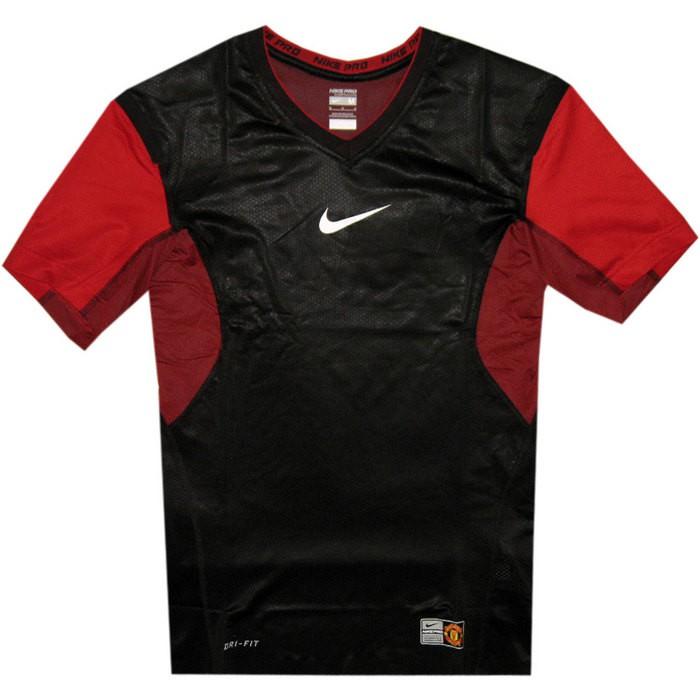 Manchester United vapor neck top 2010/11 - black-red