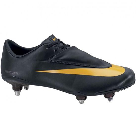 Nike Vapor SG soft ground cleats - black