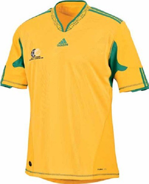 South Africa home jersey World Cup 2010 - youth