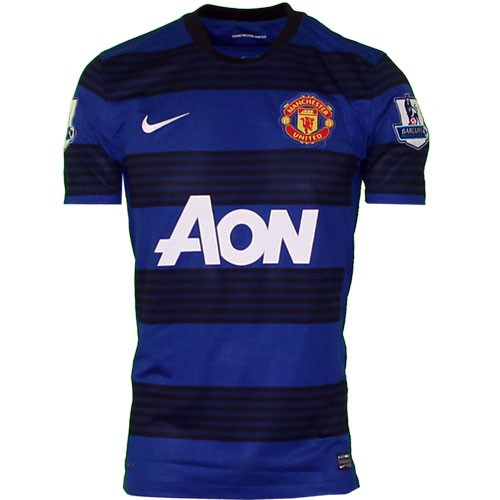 Manchester United away jersey 2011/12 - EPL badges