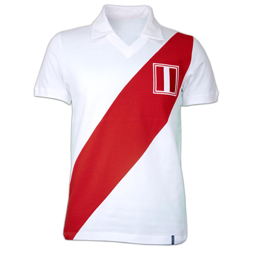 Copa Peru 1970's Short Sleeve Retro Shirt