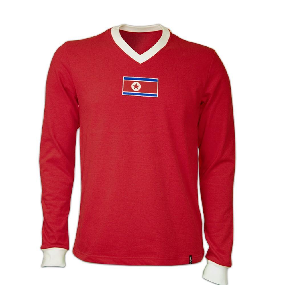 Copa North Korea WC 1966 Long Sleeve Retro Shirt