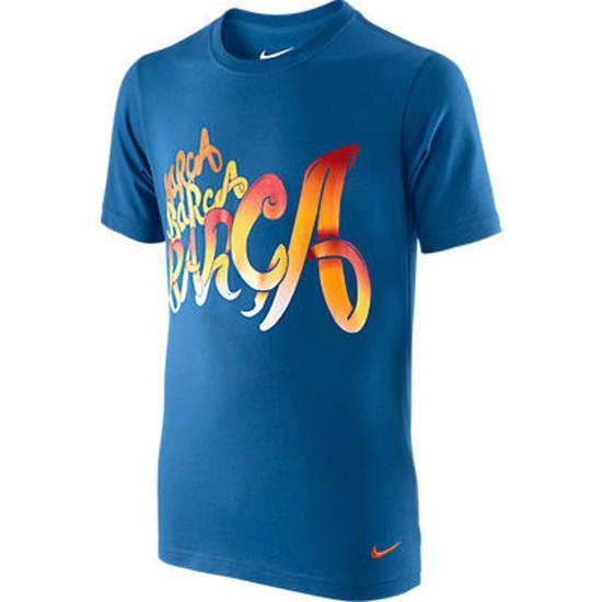 FC Barcelona tee core 2011/12 - blue - youth