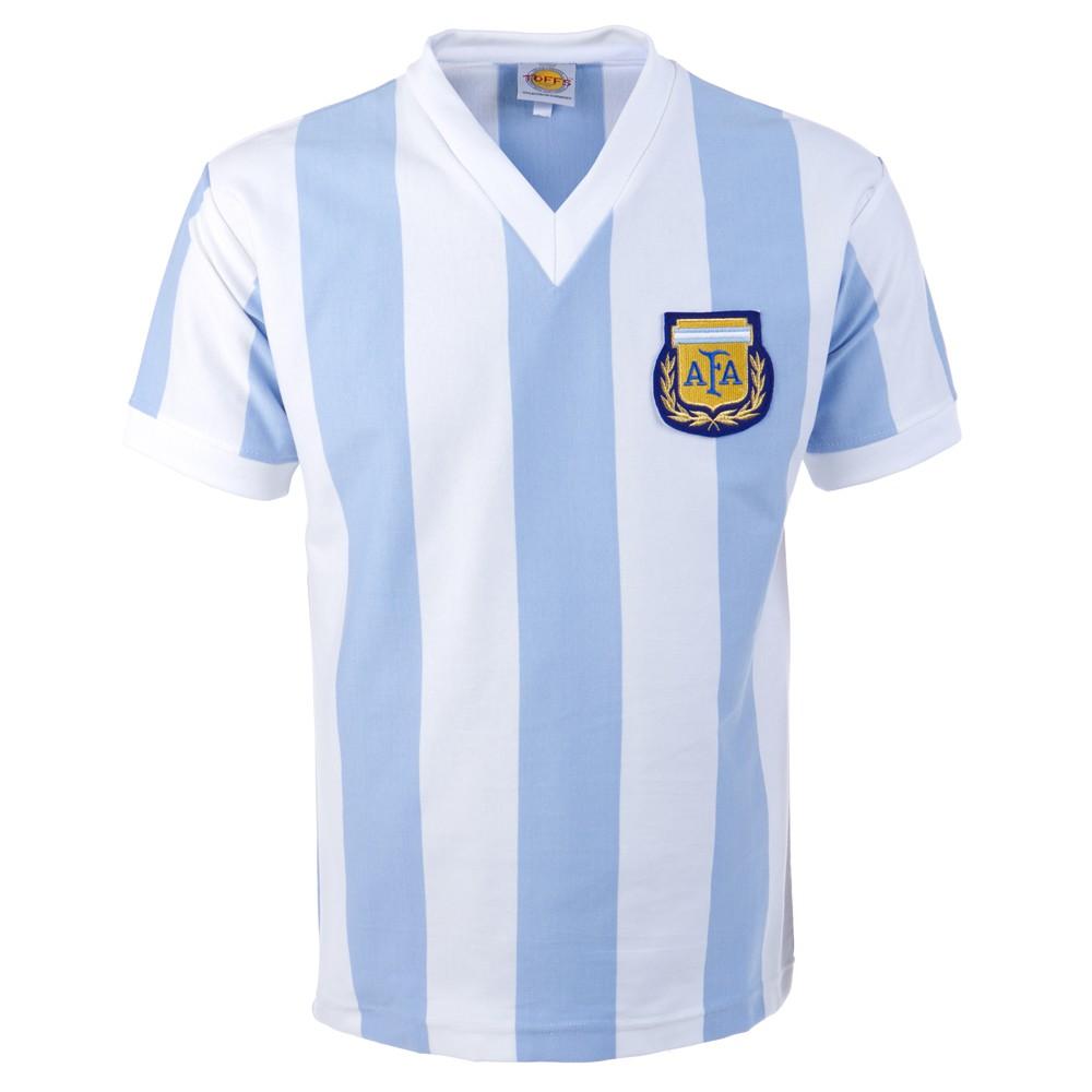 Argentina 1982 world cup retro football jersey