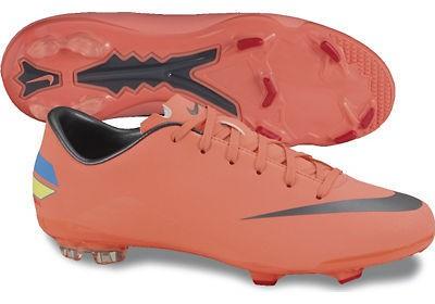 Mercurial Glide FG Ronaldo soccer boots - mango - youth