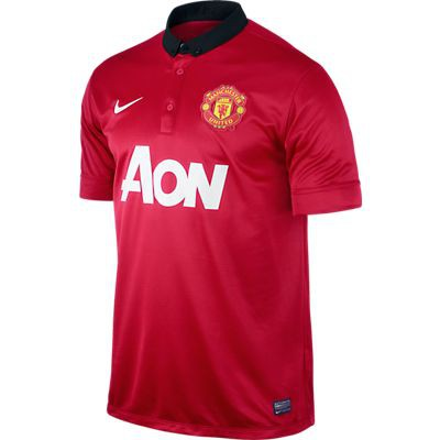 Manchester United home jersey 2013/14 youth