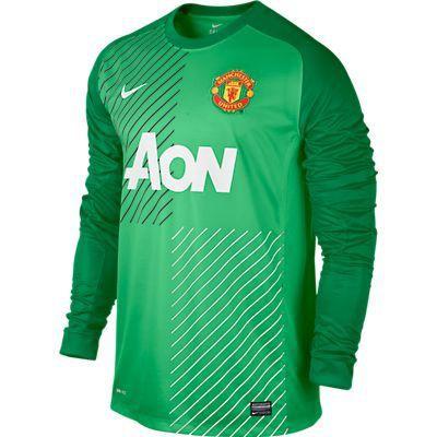 Manchaster united boys long sleeve goal keepar jarsy 2013/14