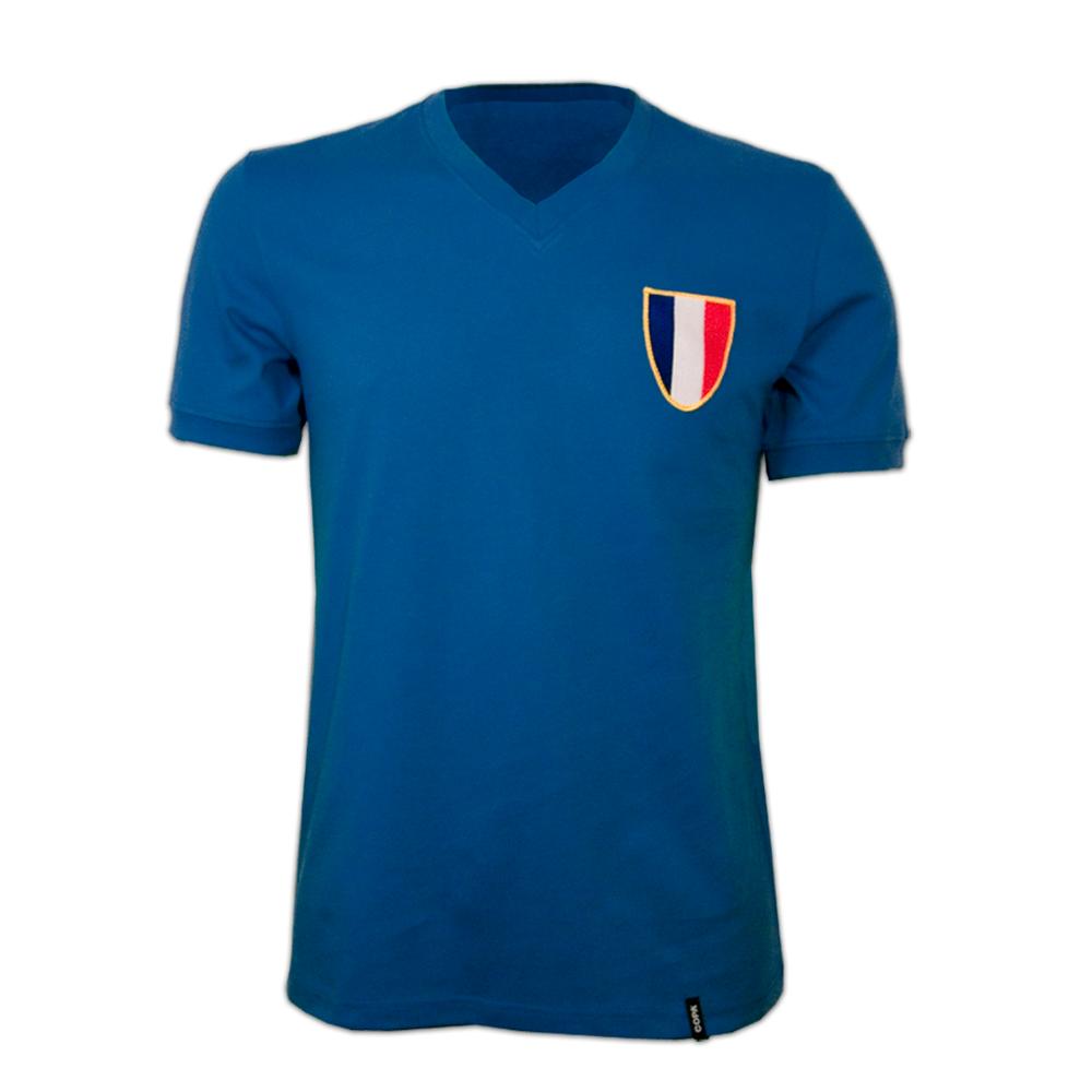 Copa France 1968 Olympics Short Sleeve Retro Shirt